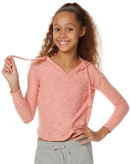 CANDLELIGHT PEACH KIDS GIRLS ROXY TEES - ERGKT03041MFE0