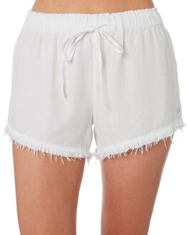 WHITE WOMENS CLOTHING BILLABONG SHORTS - 6571274WHT