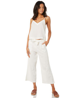 WHITE WOMENS CLOTHING RHYTHM PANTS - JAN19W-PA02-WHT