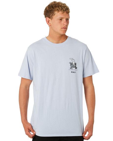BABY BLUE MENS CLOTHING MISFIT TEES - MT092006BBL
