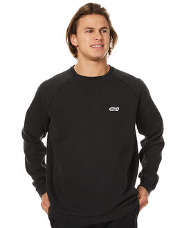 PIGMENT BLACK MENS CLOTHING STUSSY JUMPERS - ST076217PBLK