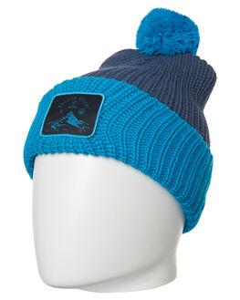 SNOW VINTAGE NAVY MENS ACCESSORIES VOLCOM HEADWEAR - J5851807VNY