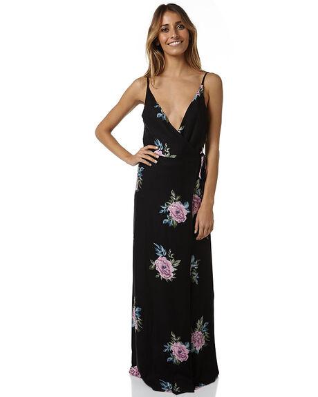 BLACK WOMENS CLOTHING ELEMENT DRESSES - 264865ABLK