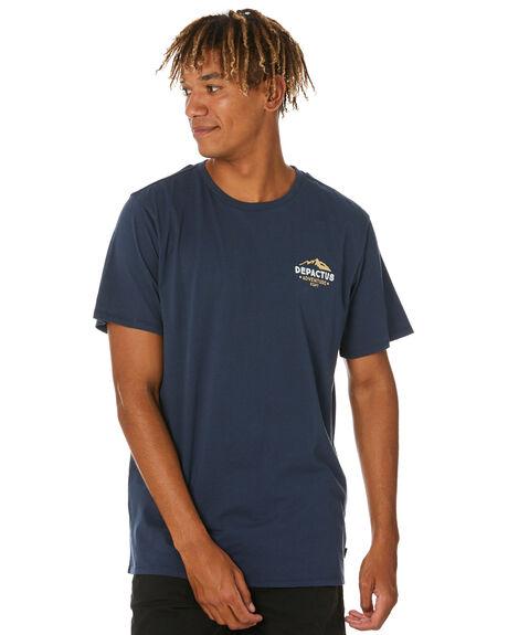 MIDNIGHT MENS CLOTHING DEPACTUS TEES - D5212007MIDNT