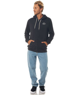BLACK MENS CLOTHING DC SHOES JUMPERS - EDYFT03369KVJ0
