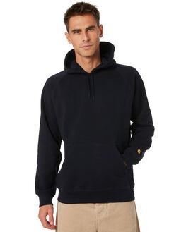 DARK NAVY GOLD MENS CLOTHING CARHARTT JUMPERS - I0263841C