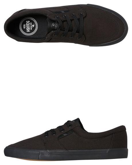 BLACK MENS FOOTWEAR RIP CURL SNEAKERS - TCKAA61619