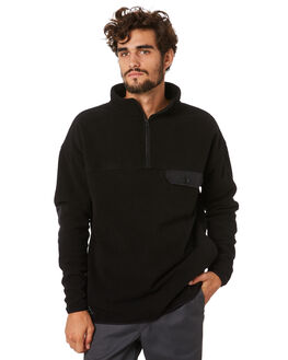 BLACK MENS CLOTHING RPM JUMPERS - 20AM19A2BLACK