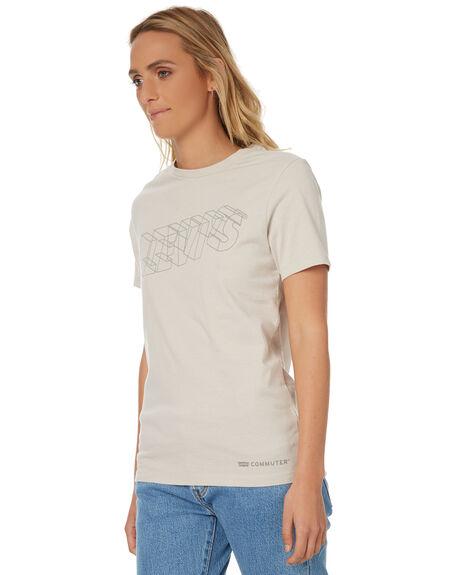 WHITE WOMENS CLOTHING LEVI'S TEES - 35945-0001WHT