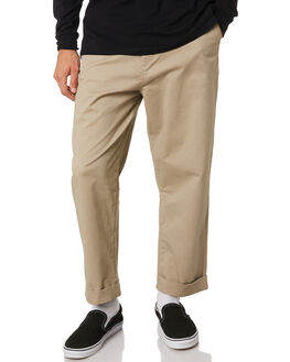 KHAKI MENS CLOTHING SWELL PANTS - S5193191KHA