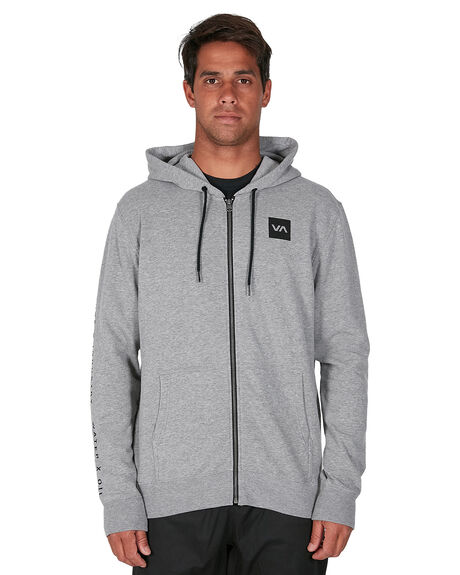 HEATHER GREY MENS CLOTHING RVCA JUMPERS - RV-R305154-H31