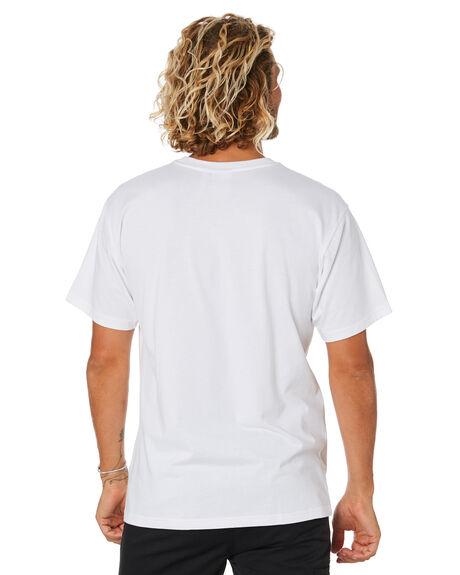 WHITE MENS CLOTHING ADIDAS TEES - FM1436WHT