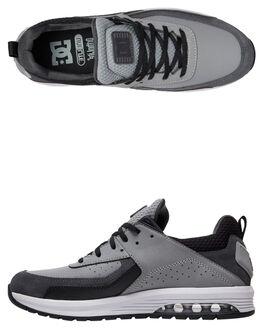 GREY GREY BLACK MENS FOOTWEAR DC SHOES SNEAKERS - ADYS200067-XSSK