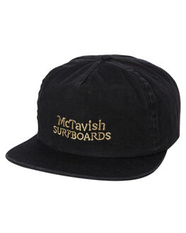 BLACK MENS ACCESSORIES MCTAVISH HEADWEAR - MW-19HW-06BLK