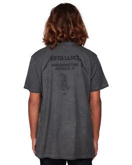 BLACK MENS CLOTHING BILLABONG TEES - BB-9592096-BLK