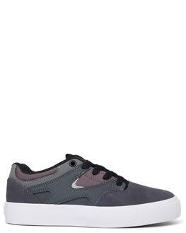 CHARCOAL/BLACK KIDS BOYS DC SHOES SNEAKERS - ADBS300355-CB3