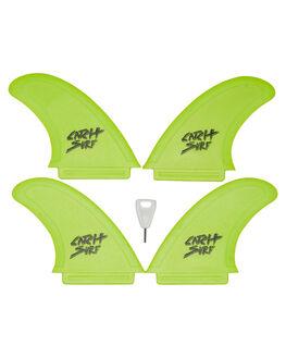 LIME BOARDSPORTS SURF CATCH SURF FINS - SAFEQUADLIME