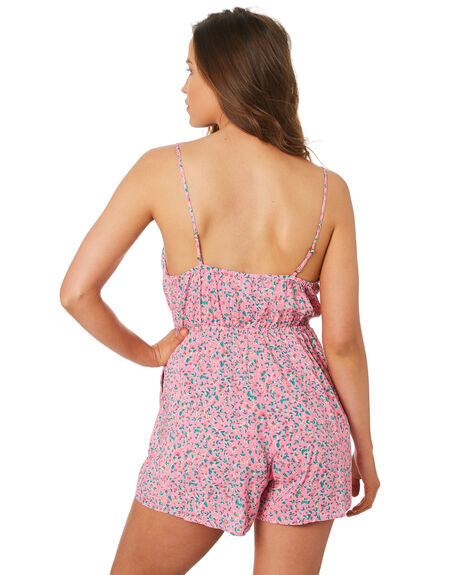 PINK OUTLET WOMENS TIGERLILY PLAYSUITS + OVERALLS - T392437PINK