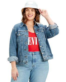 SOFT AS BUTTER WOMENS CLOTHING LEVI'S JACKETS - 72765-0006SOF