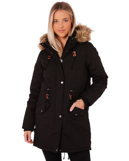 ALL BLACK WOMENS CLOTHING ELEMENT JACKETS - 276459AB1