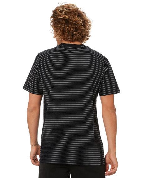 BLACK MENS CLOTHING VOLCOM TEES - A0132005BLK