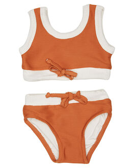 RUST KIDS TODDLER GIRLS ZULU AND ZEPHYR SWIMWEAR - ZM1640RUS