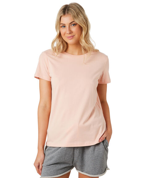 PALE PINK WOMENS CLOTHING AS COLOUR TEES - 4001PPINK
