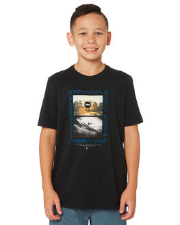 BLACK KIDS BOYS HURLEY TOPS - AR4107-010