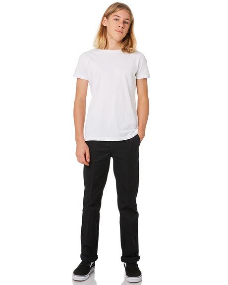 BLACK KIDS BOYS DICKIES PANTS - QP873BLK