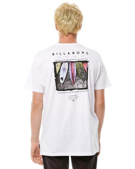 WHITE MENS CLOTHING BILLABONG TEES - 9585030WHT