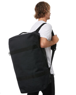 BLACK MENS ACCESSORIES RAINS BAGS + BACKPACKS - RNS1317BLK