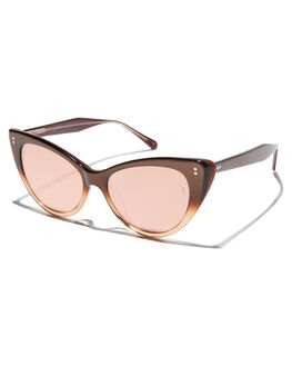 ROSE WOMENS ACCESSORIES SUNDAY SOMEWHERE SUNGLASSES - SUN171-ROS-SUNROSE