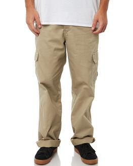 RINSED KHAKI MENS CLOTHING DICKIES PANTS - 23-214RKH
