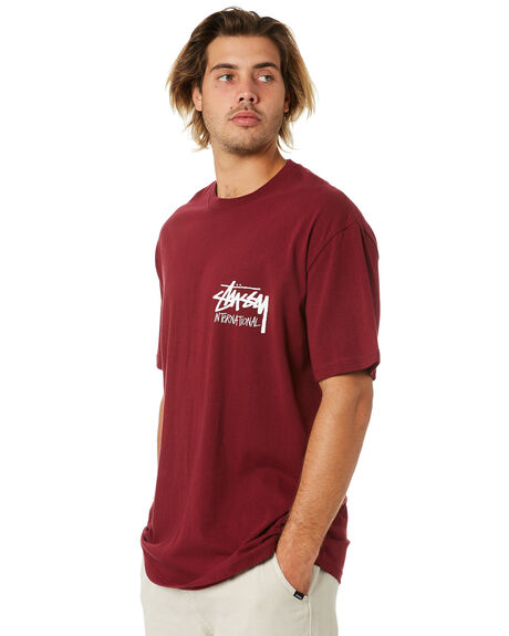 GRAPEVINE MENS CLOTHING STUSSY TEES - ST006001GRPVN