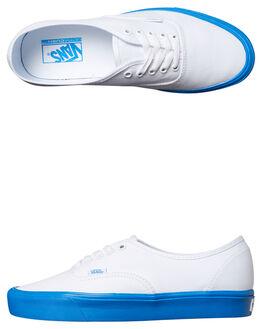 WHITE BLUE MENS FOOTWEAR VANS SNEAKERS - VN-0Z5JN5VWHT