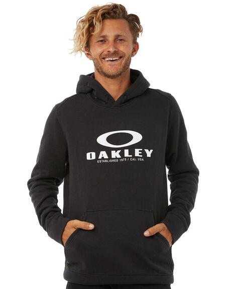 BLACK MENS CLOTHING OAKLEY JUMPERS - 461537A02E