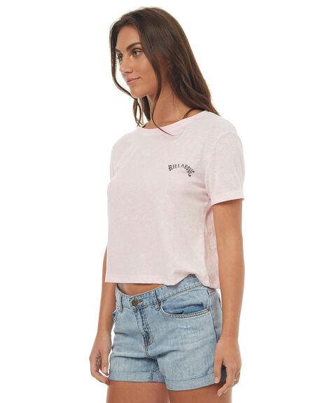 RETRO PINK WOMENS CLOTHING BILLABONG TEES - 6572006RE1