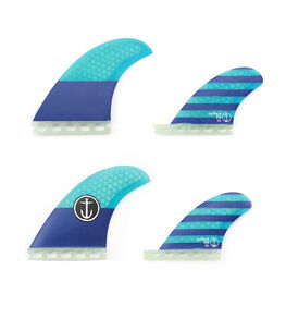 BLUE BOARDSPORTS SURF CAPTAIN FIN CO. FINS - CFF2311500BLU
