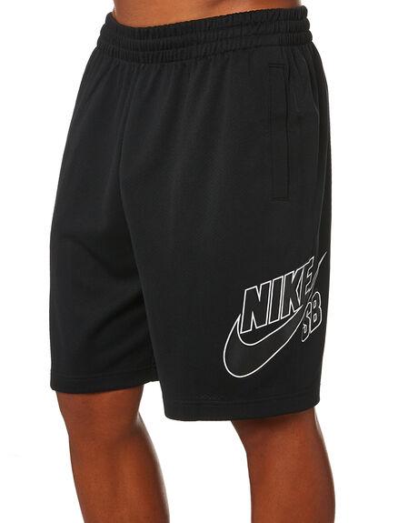 BLACK BLACK MENS CLOTHING NIKE SHORTS - CI5852010
