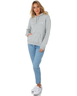 GREY MARLE WOMENS CLOTHING ELWOOD JUMPERS - W01210GREYM