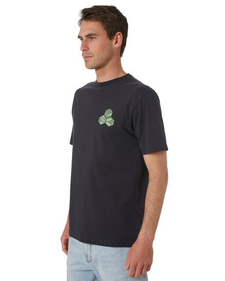 TRUE BLACK MENS CLOTHING CHANNEL ISLANDS TEES - 23167100020TBLK