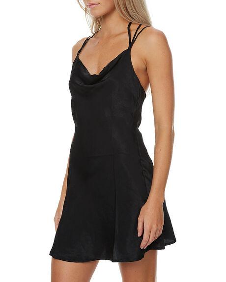 BLACK WOMENS CLOTHING MINKPINK DRESSES - MP1609457BLK