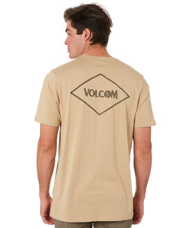 GRAVEL MENS CLOTHING VOLCOM TEES - A5001912GRV