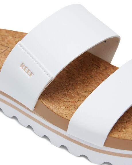 CLOUD WOMENS FOOTWEAR REEF SLIDES - A3YP5CLD