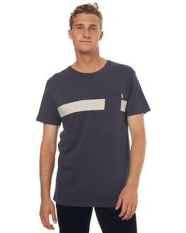 CHARCOAL MENS CLOTHING RHYTHM TEES - JUL17-CT09-CHA