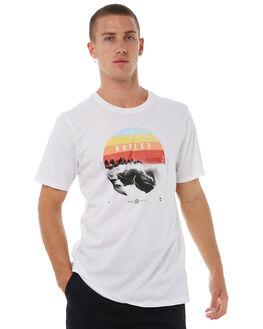 WHITE MENS CLOTHING HURLEY TEES - AJ1763100