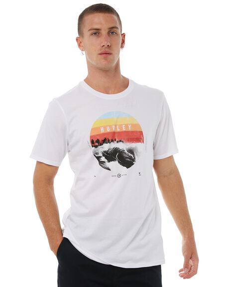 WHITE OUTLET MENS HURLEY TEES - AJ1763100