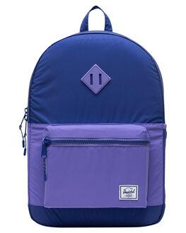 ORIENT BLUE KIDS GIRLS HERSCHEL SUPPLY CO BAGS + BACKPACKS - 10560-03249-OSPRBLU