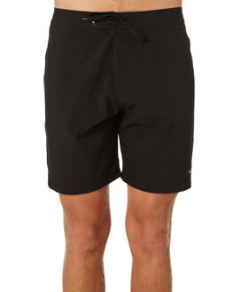 DIRTY BLACK MENS CLOTHING BANKS BOARDSHORTS - BS0163DBL