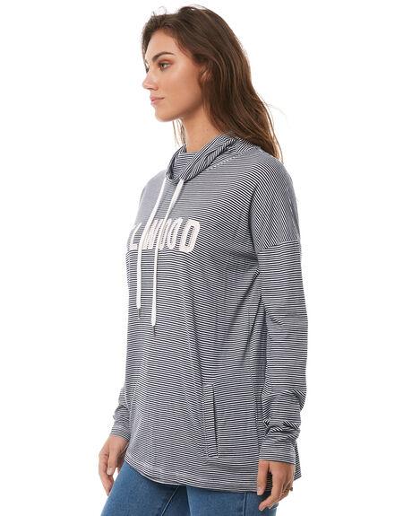 NAVY STRIPE WOMENS CLOTHING ELWOOD TEES - W82119JF6